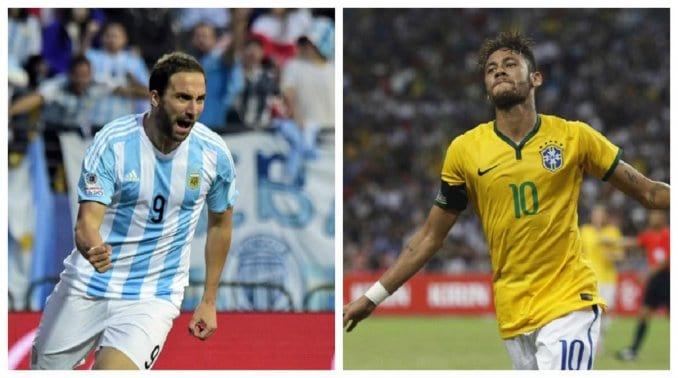 Argentina vs Brasil 2015 Eliminatorias Mundial 2018
