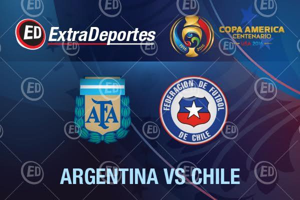Argentina vs Chile Copa America Centenario 2016
