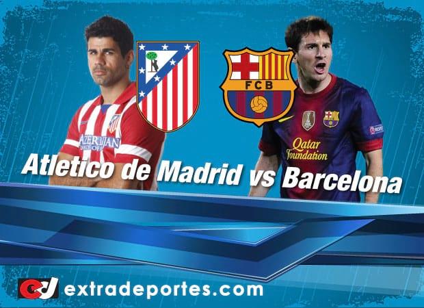 Barcelona vs Atletico de Madrid Final Liga BBVA desde el Camp Nou