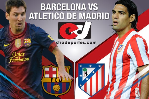 Barcelona vs Atletico de Madrid 2012 - Messi vs Falcao