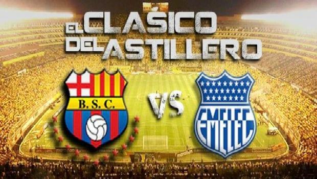 Barcelona vs Emelec Clasico del Astillero