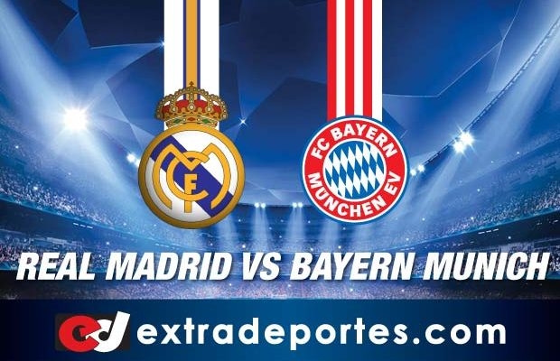 Real Madrid vs Bayern Munich En Vivo Champions 2017 Online