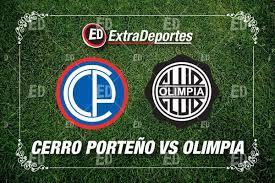 Cerro Porteno vs Olimpia