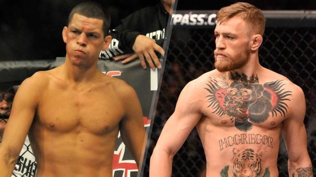 Conor McGregor vs Nate Diaz UFC 196