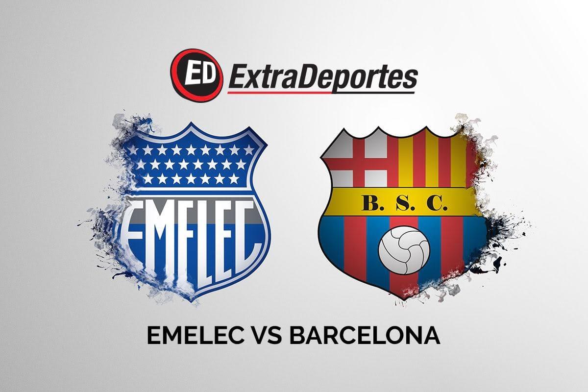 Emelec vs Barcelona Clasico del Astillero