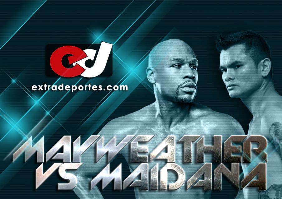 Floyd Mayweather vs Marcos Maida Pelea desde Las Vegas