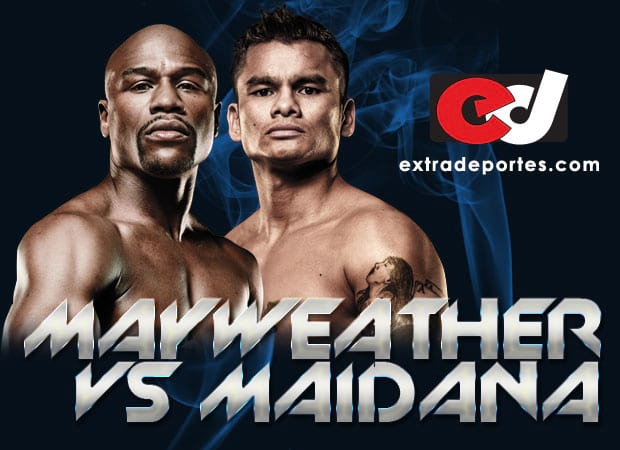 Mayweather vs Maidana Pelea 2014