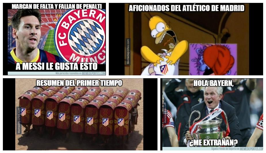 Memes Barcelona vs Atletico Madrid