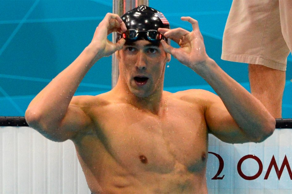 Michael Phelps 4 x 200 Juegos Olimpicos 2012