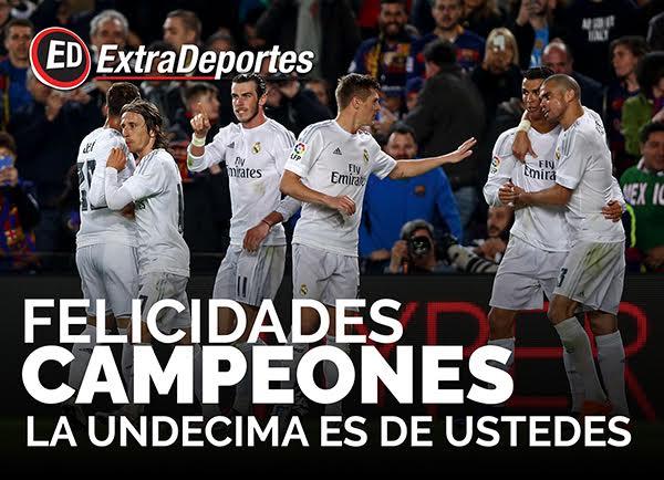 Real Madrid Campeon UEFA Champions League 2016