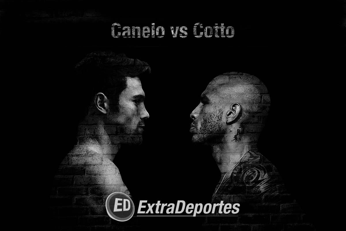 Saúl Canelo Alvarez vs Miguel Angel Cotto
