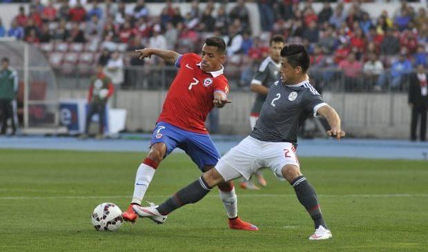 Chile vs Paraguay 2016 Eliminatorias Mundial 2018
