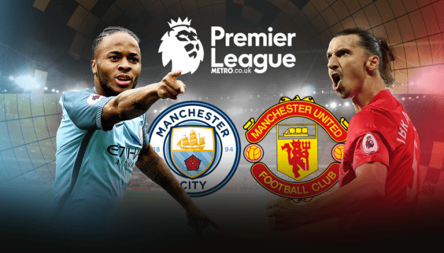 Manchester United vs Manchester City En Vivo Clasico Mourinho vs Guardiola