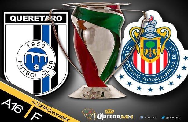 Chivas vs Queretaro En Vivo Final Copa MX 2016