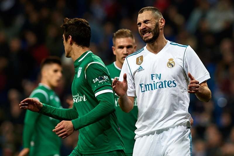 Real Madrid vs Leganes Liga de Espana