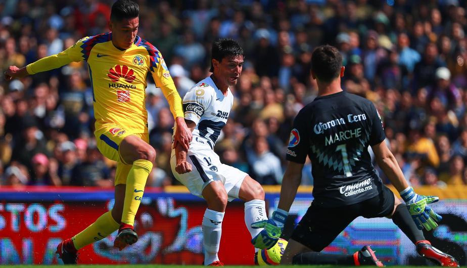 América golea y humilla a Pumas 6-1 y se clasifica a la gran Final del  Torneo Apertura 2018 d9af0fb3c4d43